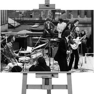 Last Ever Beatles Concert Canvas Art Cheap Wall Print Large A1 Size