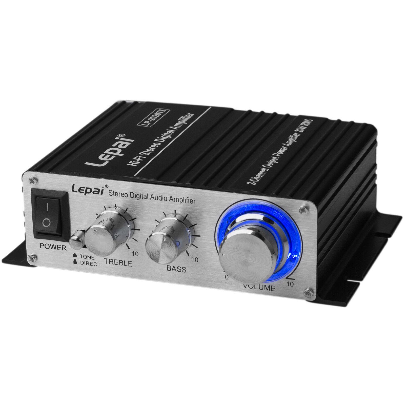 Lepai LP-2020TI Texas Instruments TPA3118 Hi-Fi Stereo Audio