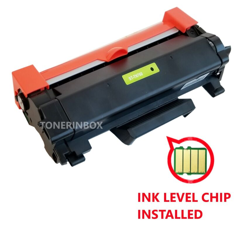 1 PK High-Yield TN760 Toner Compatible TN730 For Brother HL-L2350DW HL-L2370DW
