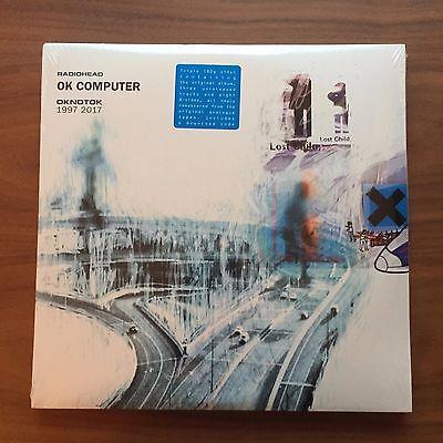 Radiohead - OK COMPUTER OKNOTOK 1997 2017 Vinyl 3xLP Black 180 Gram Sealed New