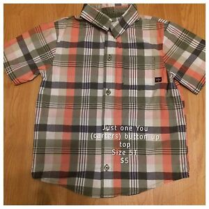 Size 4-6 button up shirts