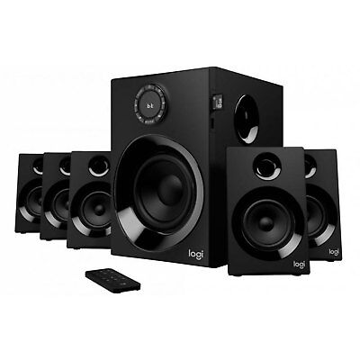 Logitech Z607 5.1 Surround Sound Lautsprecher Speaker System Bluetooth UKW-Radio (Surround-sound-lautsprecher Logitech)