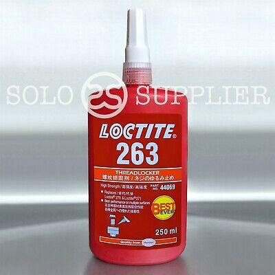 Loctite 263 Red High Strength Threadlocker 250ml