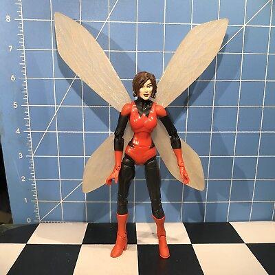 Wasp Red costume Variant Janet van Dyne MARVEL LEGENDS MODOK BAF wave AVENGERS