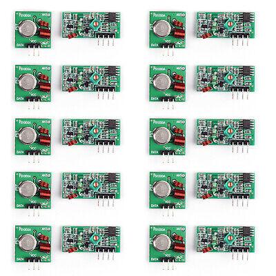 10set 433mhz Wireless Transmitter And Receiver Kit Wireless Transmitting Ua