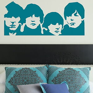 The-Beatles-Wall-Sticker-Decal-Transfer-Art-Decor-Vinyl-Graphic-Stencil-BN50