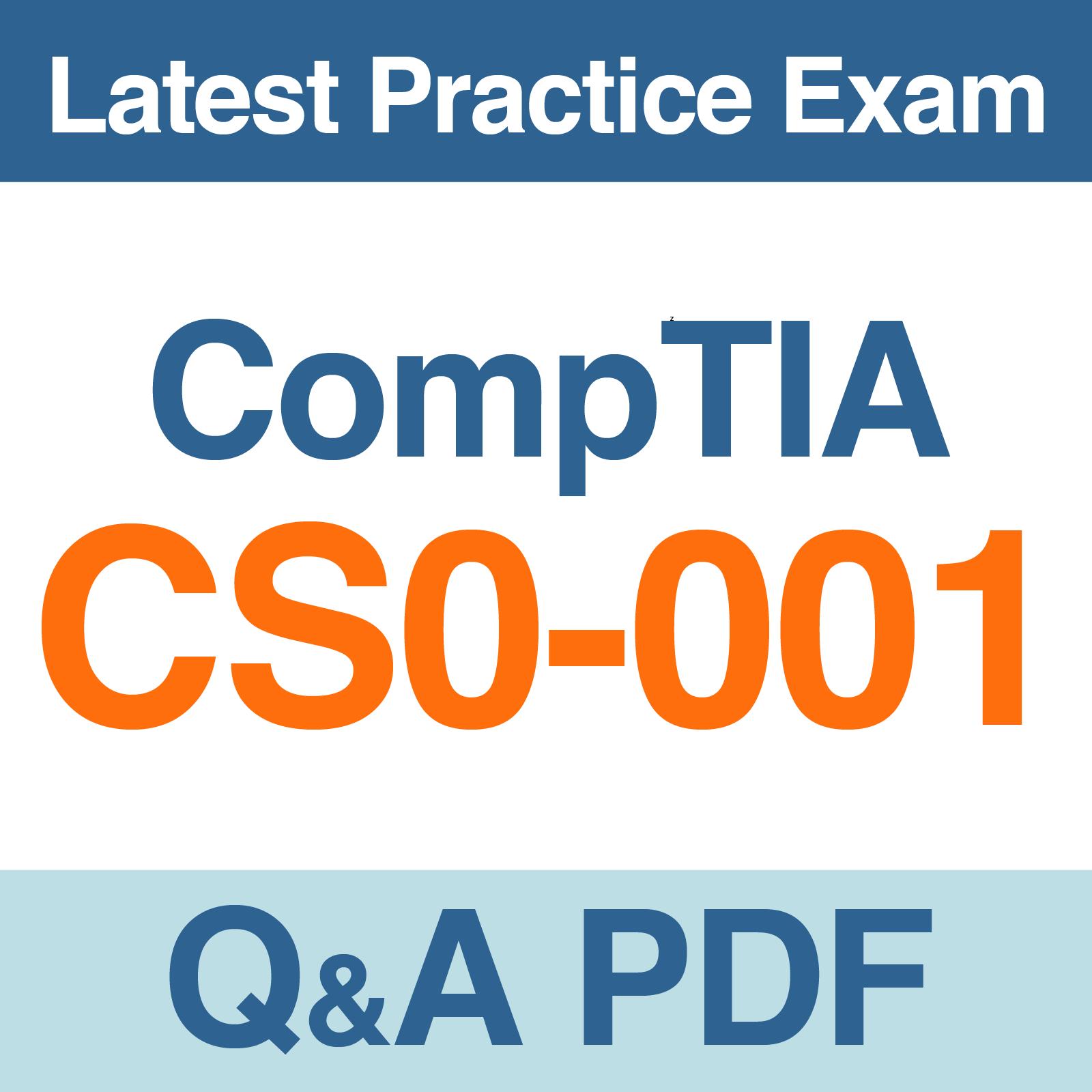 Comptia csa certification exam cs0 001 practice test qa pdf 1betcityfo Choice Image