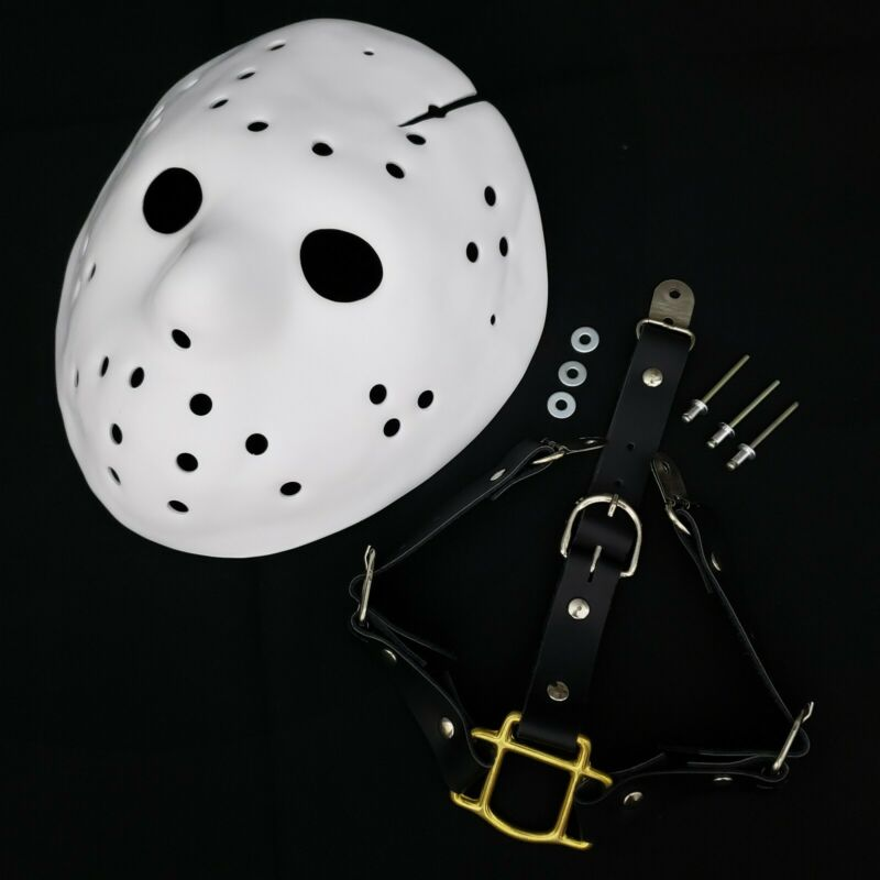 Mask Jason Part 8 Blank Precut + Straps Friday the 13th Jason Voorhees