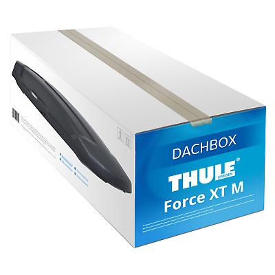 Dachbox Force XT M Thule schwarz, matt 400 L NEU