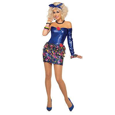 90 Halloween Costumes (Adult Womens 80s 90s Dancer Pop Singer Halloween Costume Prom Dress)