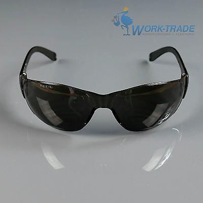Schutzbrille Sicherheitsbrille Augenschutz Top Qualität LITE-S Getönt EN166 NEU