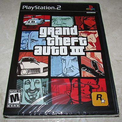 Grand Theft Auto Iii 3 Playstation 2 Ps2 Brand New Sealed