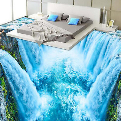 Wallpaper 3D Glow Stick Decor Effect Bathrooms Waterfall Kitchen New Decoration - Glow Stick Decorations