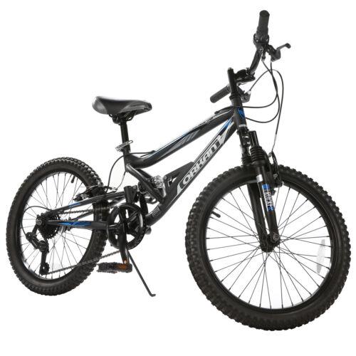 """20"""" Mountain Bike 7 Speed Rocker Bicycle Shimano Hybrid Susp"""