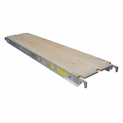 Aluminum Plank Plywood Deck - 10 Ft. Walkboard 19 X 10 50 Lbs. Per Sq. Ft.