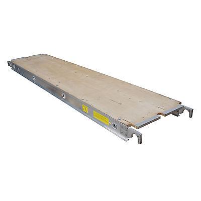 Aluminum Plank Plywood Deck - 10 Ft. Walkboard 19 X 10 50 Lbs. Per Sq. Ft.