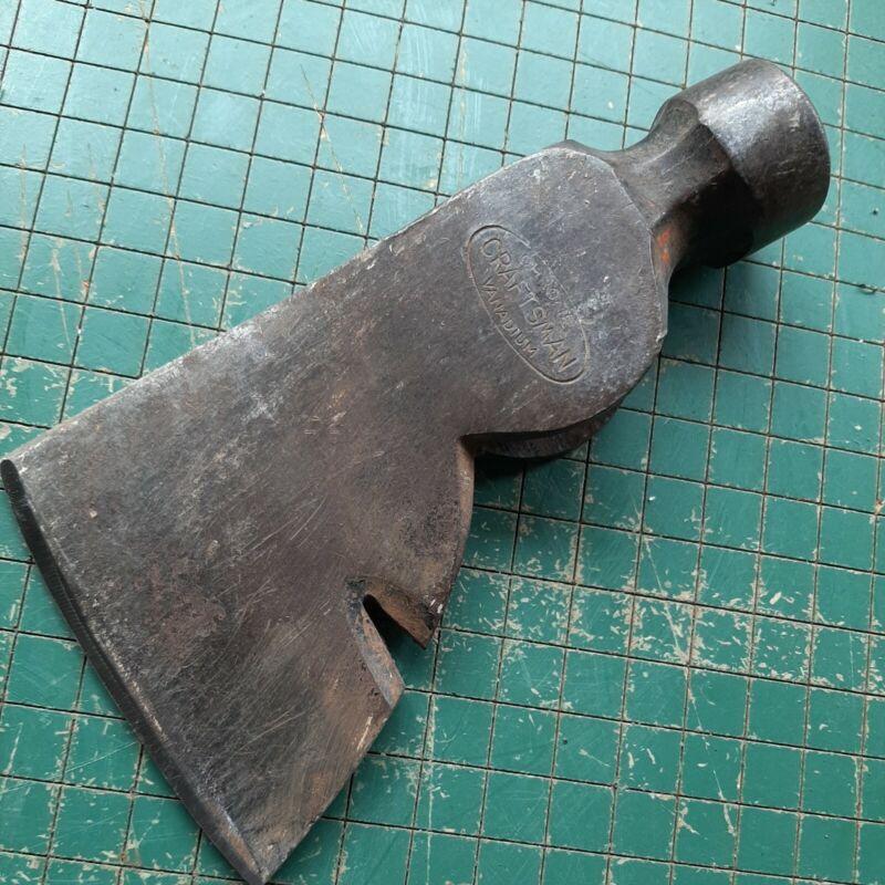 vintage craftsman chrome vanadium hatchet head
