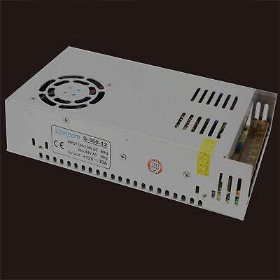 Ac 110220v To Dc 12v 30a 360w Volt Transformer Switch Power Supply Converter