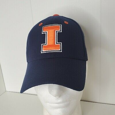 Illinois Fighting Illini NCAA TOP OF THE WORLD Baseball Cap Hat illiniwek Logo