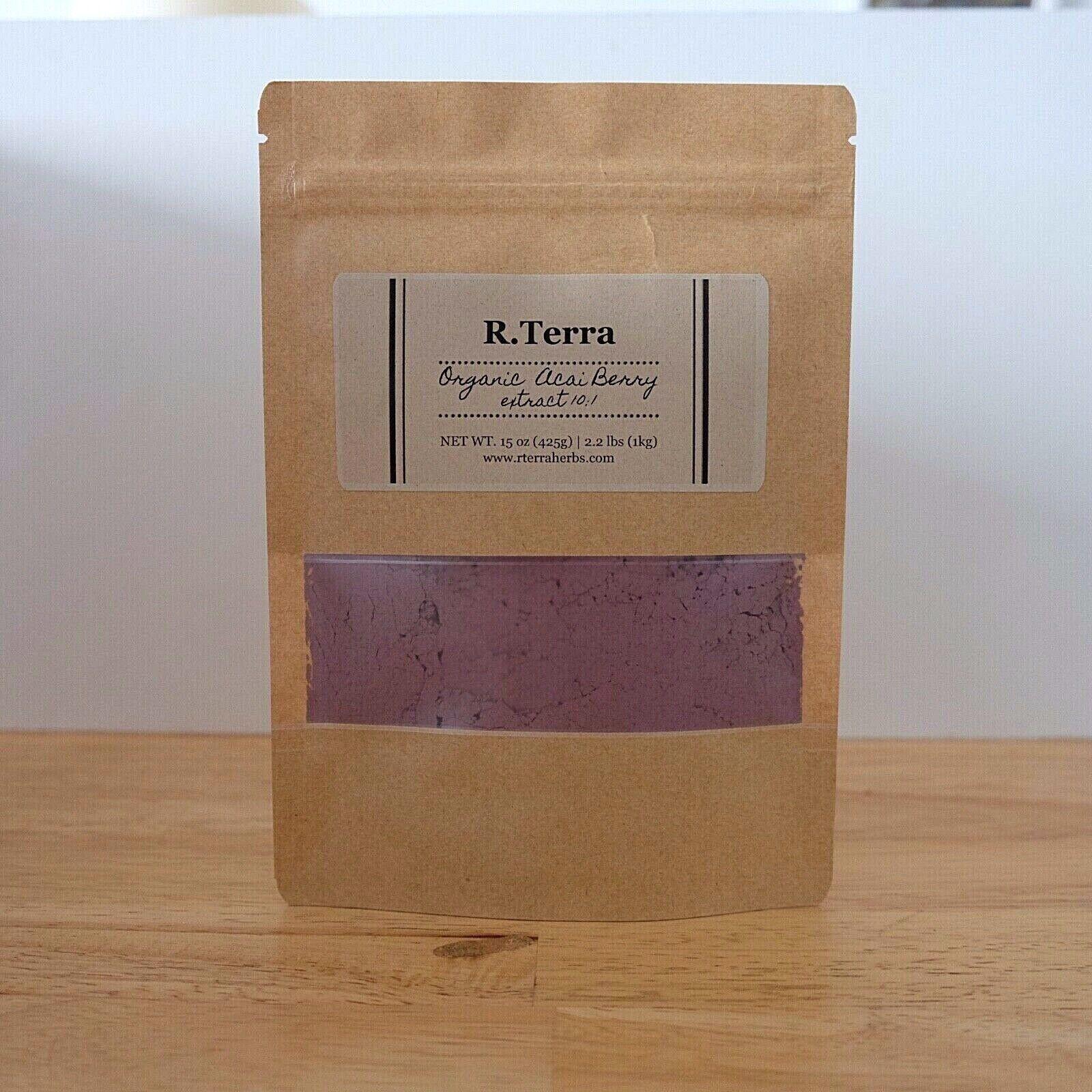 Acai Berry Boost Energy 10X Stronger Organic Extract Powder Natural Vegan