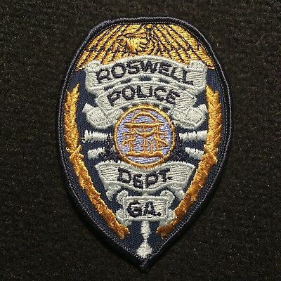 Georgia - Roswell Police Department Patch