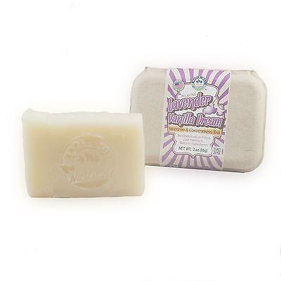 Lavender Vanilla Dream Shampoo and Conditioning Bar ()