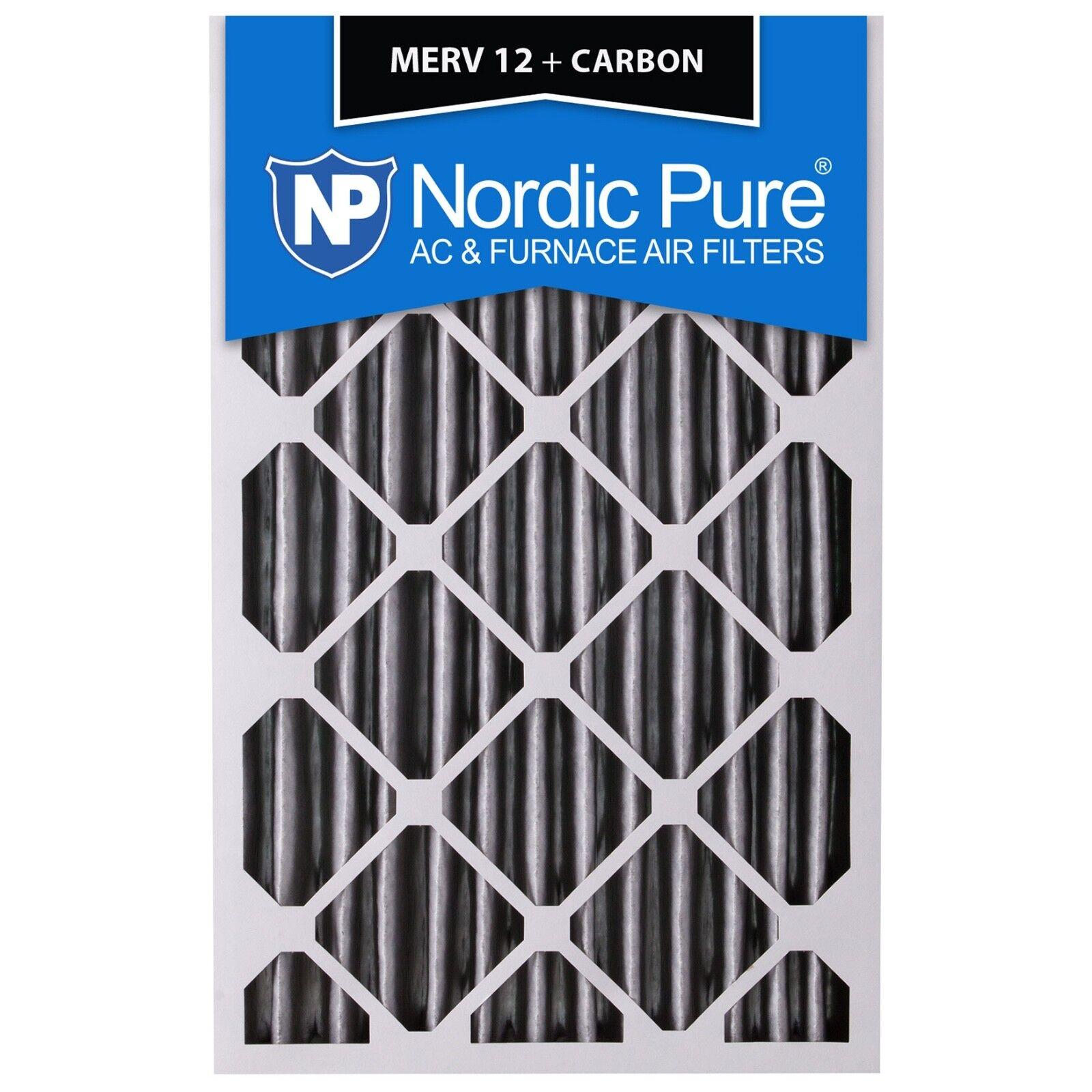 16x25x1 air filter charcoal carbon furnace merv