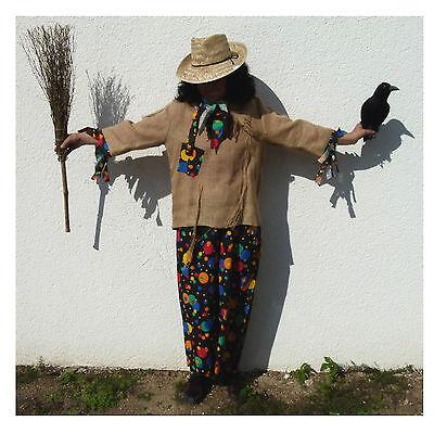 Vogelscheuche Kostüm Oz Halloween Herbst Verkleidung 2. Wahl 121173313 121107113