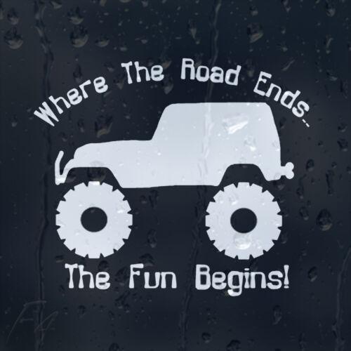 Jeep Upside Down Sticker