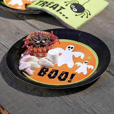 HALLOWEEN PAPER PLATES -Adult/Childrens Party-High Quality- FULL RANGE IN SHOP - High Quality Paper Plates