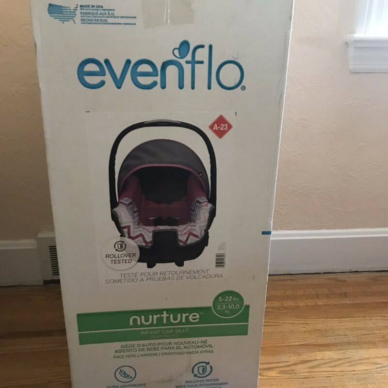 Evenflo Nurture Infant Car Seat, Millie Brand New Sealed Box