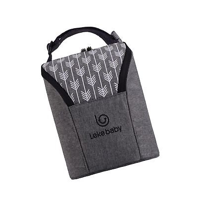Lekebaby Insulated Baby Bottle Tote Bags for Travel Double B