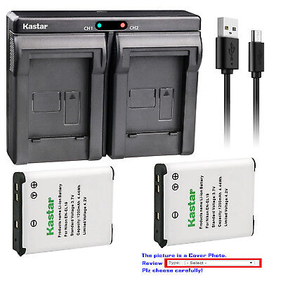 Compact Digital Camera Battery Charger (Kastar Dual Charger Battery for Sony NP-BJ1 & Sony DSC-RX0 Ultra-Compact)