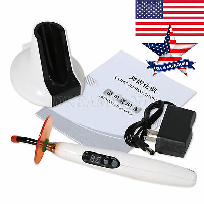 Usa Dental Led Curing Light Cure Lamp Led.b Type Cordless Wireless F Woodpecker