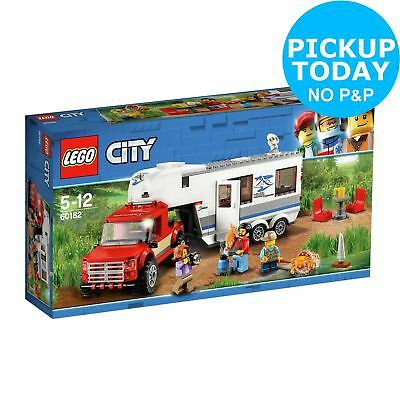LEGO City Great Vehicles Pickup & Caravan Truck Toy - 60182