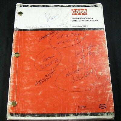 Case 450 Crawler Loader With 207 Diesel Engine Parts Manual Catalog Book