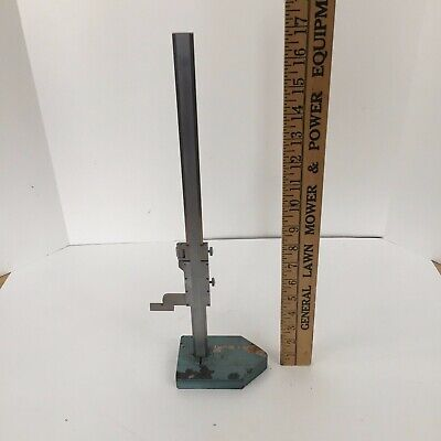 Helios Vernier Height Gage 0-13.5 Made In Germany Vintage Machinist Tool