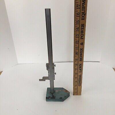 Helios Vernier Height Gage 0-13.5 Made In Germany Vintage Machinist Tool