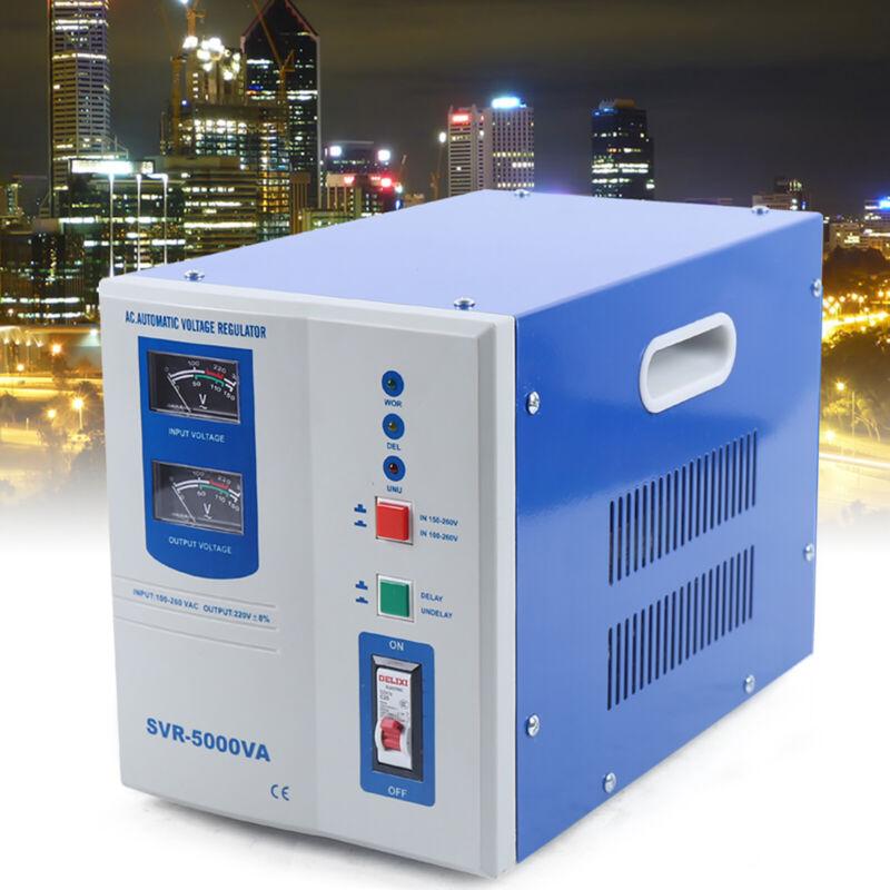 SVR-5000VA Electronic Voltage Regulator 5000W AC Voltage Regulator US STOCK