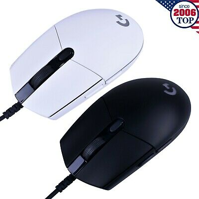 New Logitech G102 Prodigy Wired Gaming Mouse 6 Programmable Buttons 8000DPI