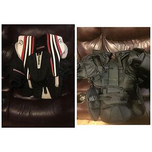 Various goalie gear!