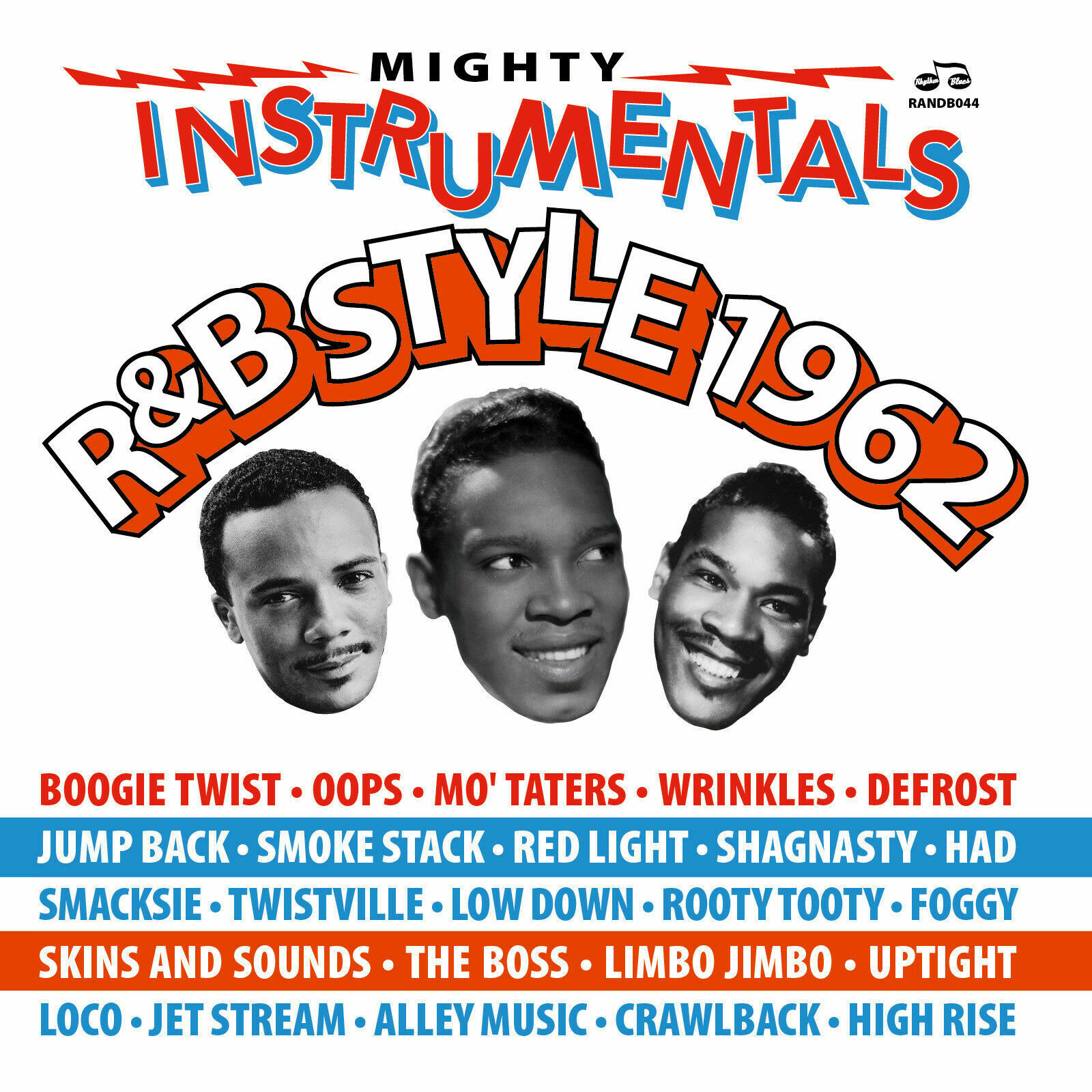 VARIOUS ARTISTS - MIGHTY INSTRUMENTALS R B-STYLE 1962 Played Once CD PLUS GIFT  - $19.99