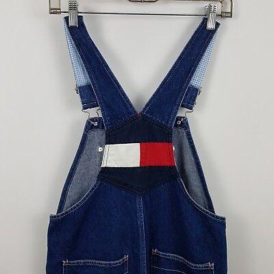 ceb8b8aa VTG Tommy Hilfiger Overalls Mens/Womens Medium Wash Blue Jeans Size Large L