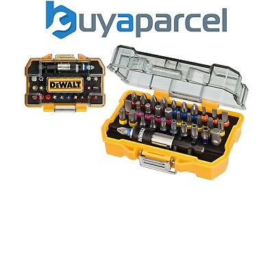 DeWalt DT7969 32 Pc Screwdriver Bit Set & Holder S2 Professional Grade TZ PH PZ