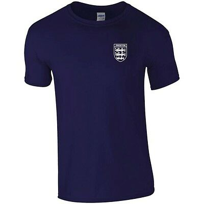 Mens North End (PRESTON NORTH END   3 LIONS CLUB AND COUNTRY SMALL CREST T-SHIRT MENS)