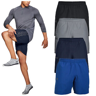 2019 Under Armour Mens Woven Graphic Shorts Training Fitness Gym Running