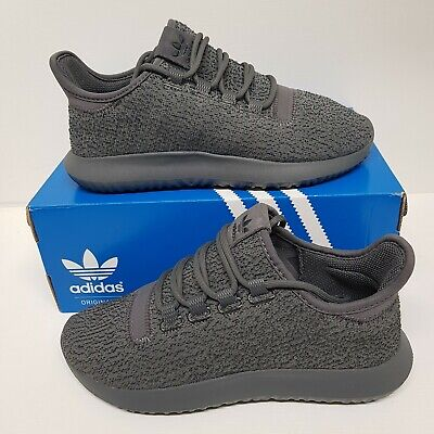 Womens Adidas Originals Tubular Shadow Grey Size 4 UK Trainers BY9741 RRP £79.99