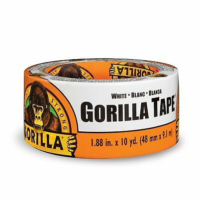 Gorilla Tape White Duct Tape 1.88 X 10 Yd White Pack Of 1