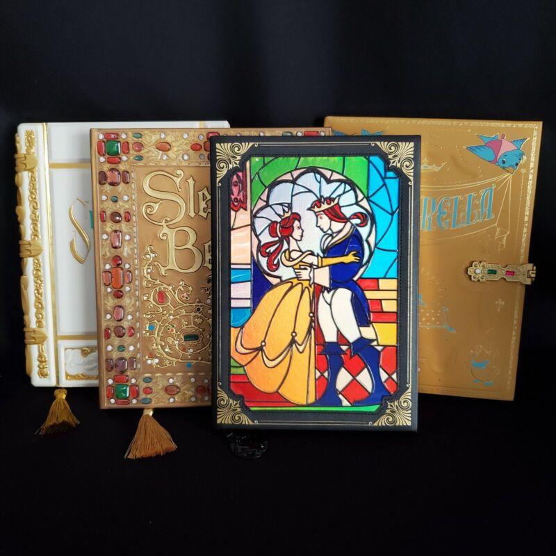 Disney Classic Princess StoryBook Journal Set Cinderella Snow Sleeping Beauty