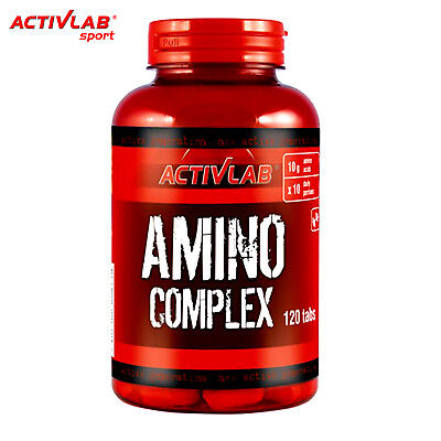 AMINO COMPLEX 120 TABLETS BCAA ANABOLIC BODYBUILDING REVOVERY MUSCLE MASS